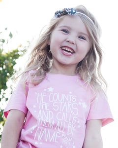 He counts the stars T-shirt