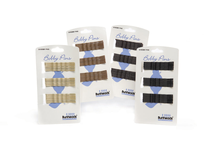 Bobby pins four colours