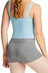 Capezio grey knit boyshorts