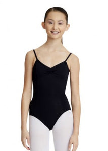 Black Capezio adult ballet leotard