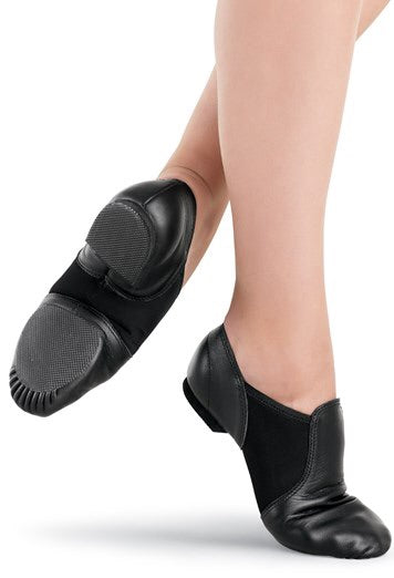 Black jazz shoe