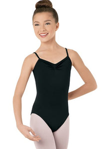 Balera basic black uniform leotard