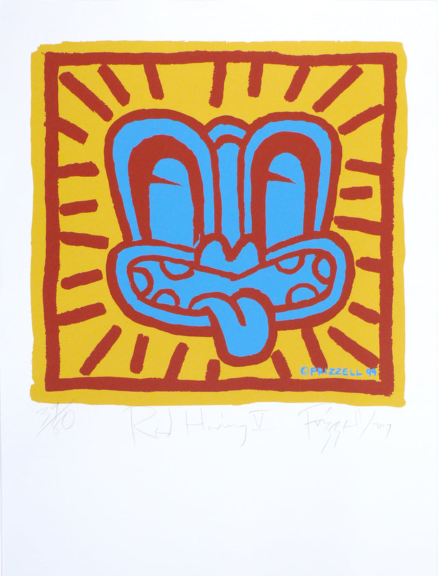 Dick Frizzell, Red Haring V, 2007, edition of 80, screenprint, 795 x 605 mm