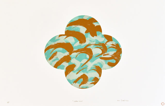 Gimblett_2019_Copper Crown_edition of 3_screen-print on Fabriano 50% cotton paper_1000 x 700mm_aiiiGIM943-19