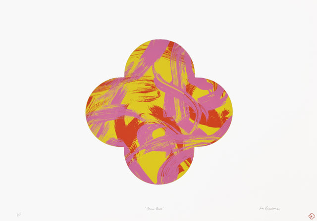 Gimblett_2019_Yellow Dance_edition of 3_screen-print on Fabriano 50% cotton paper_1000 x 700mm_aiiiGIM946-19
