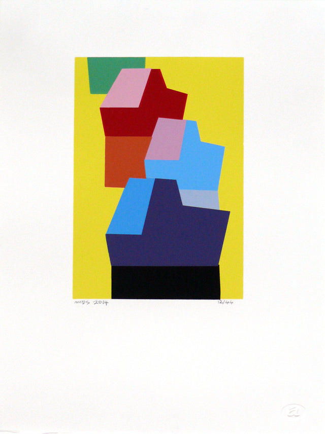 Smither_Okahu Boats - Paris Daisy_2014_screenprint_370 x 275mm_aSMI036-14