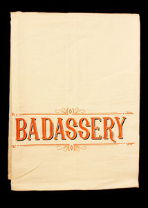 Bad assery Hand Towel - MN Nice Gifts