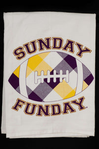 Sunday Funday Hand Towel - MN Nice Gifts