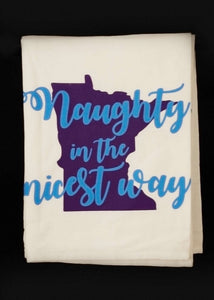Naughty in the Nicest Way Hand Towel
