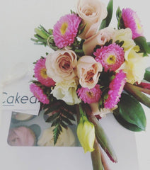 Flower and Cupcake Gift pack