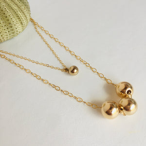 Drop of Gold Necklace
