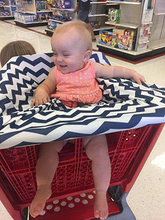 White Arrow on Grey Car Seat Covers, 5 in 1, Plus TWO FREE Baby Bandanas! FIVE COMBINATIONS to choose from! Infant Car Seat Cover, Nursing Cover, Shopping Cart Cover, Booster Seat Cover,