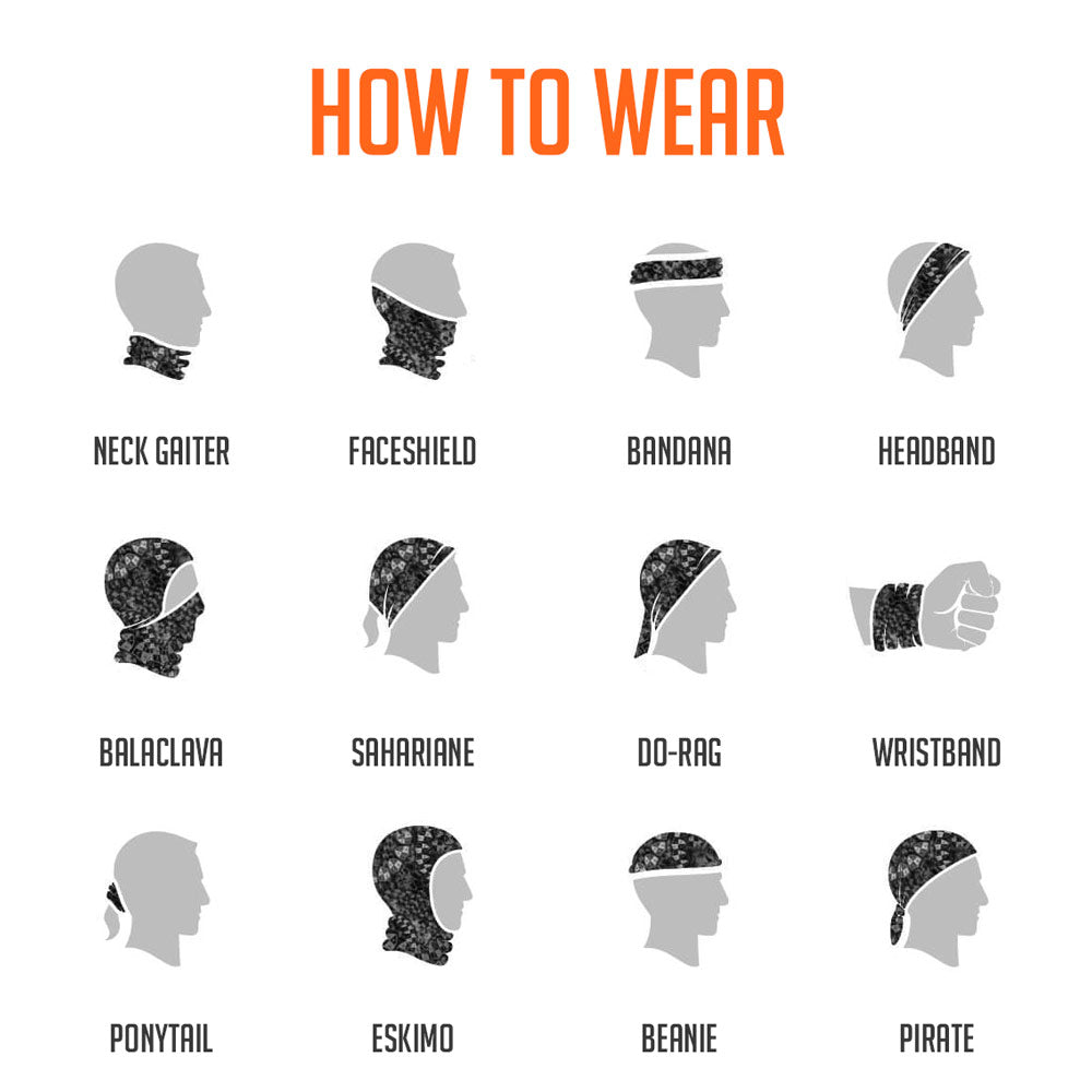 How to Wear – Neck Gaiters
