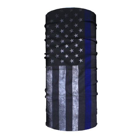 Image of Blue Line Flag 10-in-1 Neck Gaiter