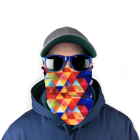 Image of Geometric 10-in-1 Neck Gaiter