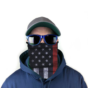 Red Line Flag 10-in-1 Neck Gaiter