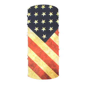 Vintage Stars and Stripes 10-in-1 Neck Gaiter
