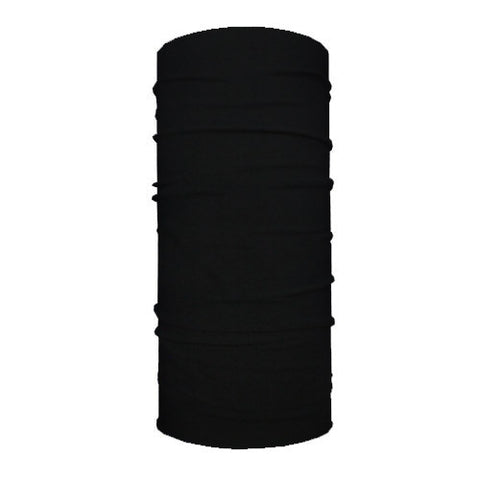 Solid Black 10-in-1 Neck Gaiters