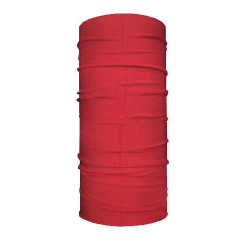 Solid Red 10-in-1 Neck Gaiters
