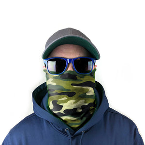 Jungle Camo 10-in-1 Neck Gaiter