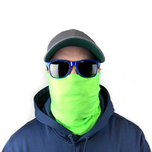 Solid Lime Green 10-in-1 Neck Gaiters