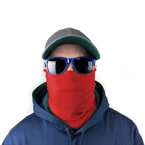 Solid Color 5-Pack Neck Gaiter Bundle