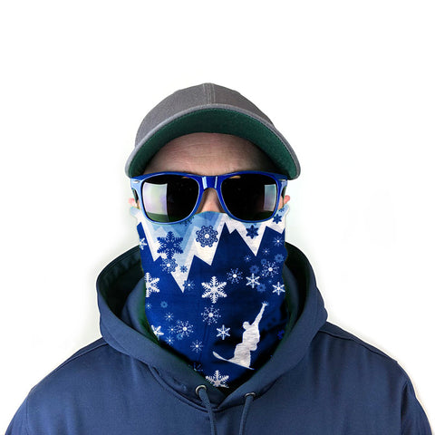 Image of Icy Snowboard 10-in-1 Neck Gaiter