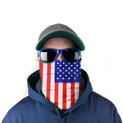 Image of American Flag 10-in-1 Neck Gaiter