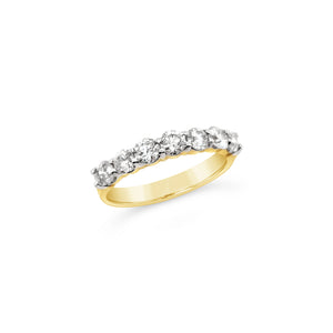 One Carat Diamond Band