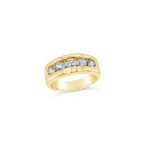 Diamond 5 Stone Ring