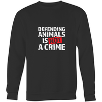 Defending Animals is NOT a crime - Jumper
