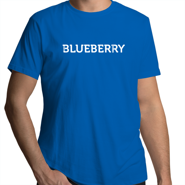 """Blueberry"" - Font Garden - Mens"