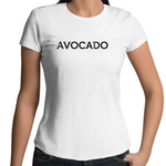 """Avocado"" - Font Garden - Ladies"