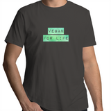 Vegan For Life - Coloured Label - Mens