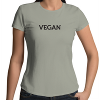 """Vegan"" - Font Garden - Ladies"