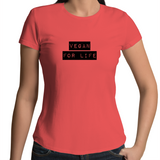 Vegan For Life - Label - Ladies