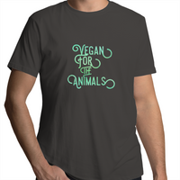 Vegan For The Animals - Green Vibe - Mens