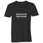 [Pick-Up] Animal Activists SA - V-Neck - Mens
