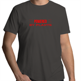 Powered By Plants - Minimal Lines Red - Mens