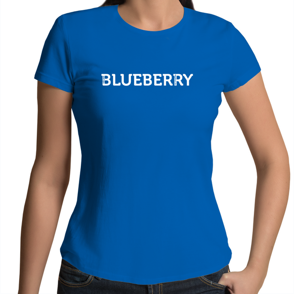 """Blueberry"" - Font Garden - Ladies"
