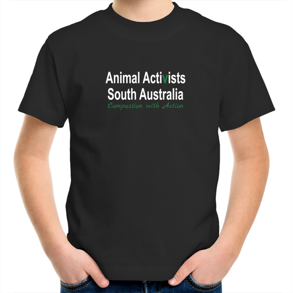 [Pick-Up] Animal Activists SA - Tee - Kids