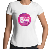 Born Again Vegan - Pink Spot On - Ladies