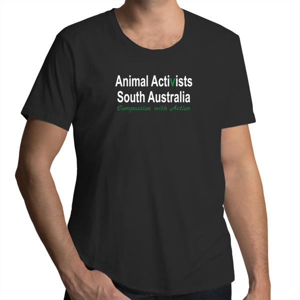 Animal Activists SA - Scoop Neck - Mens