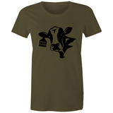 Milk Slave - Ladies Maple Tee