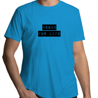 Vegan For Life - Label - Mens