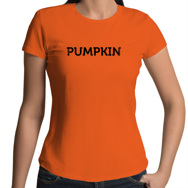 """Pumpkin"" - Font Garden - Ladies"