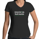 [Pick-Up] Animal Activists SA - V-Neck - Ladies