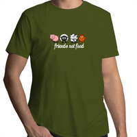 Friends Not Food - Animals White - Mens