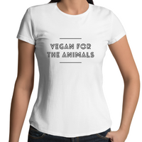 Vegan For The Animals - Disco - Ladies