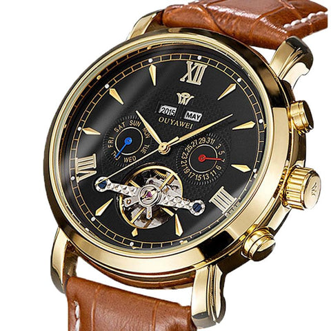 Mens Watches Mechanical Automatic Wrist Watch